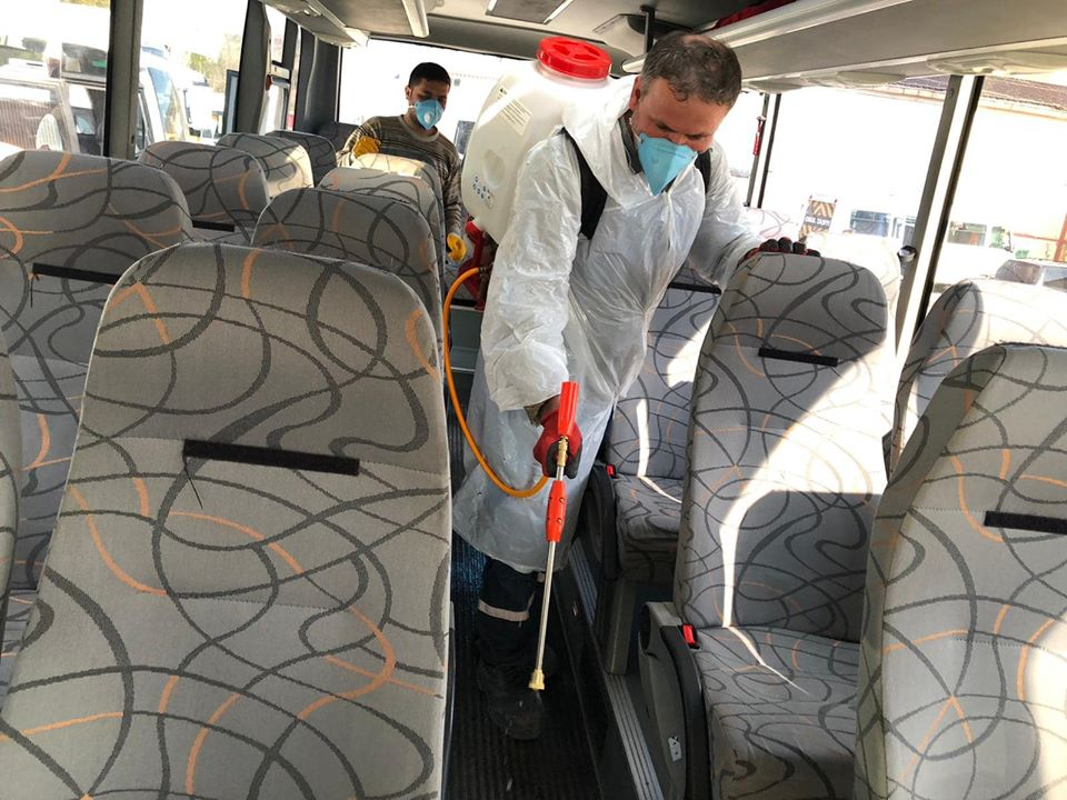 Nallıhan'da Virüse karşı Önlemler