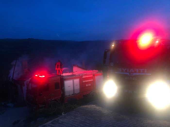 Nallıhan Çamalan'daki Yangın Sonrası Destek