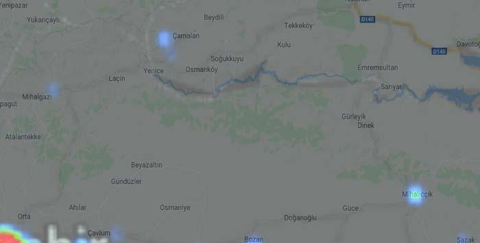 Nallıhan ve Köylerinde Korona Vaka Bilgileri
