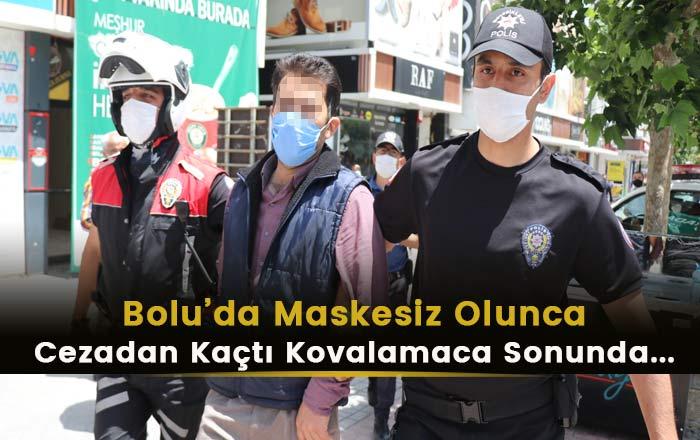 Bolu'da Maske Cezasından Kaçtı! Sonrasında?