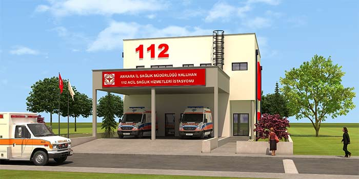 Nallıhan'a 112 Acil Sağlık Hizmetleri İstasyonu Hayırlı Olsun
