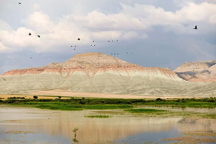 Ankara'nın Gökkuşağı Tepeleri Nallıhan'da