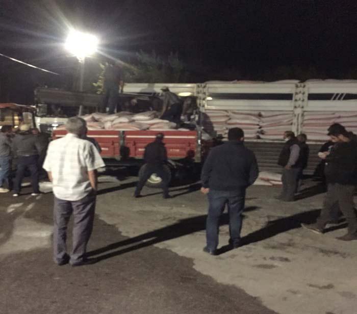 Nallıhan'da 368 çiftçiye 161 ton buğday tohumu dağıtıldı