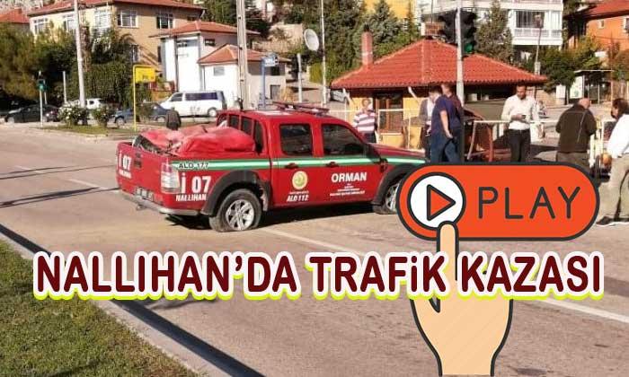 Nallıhan'da trafik kazası