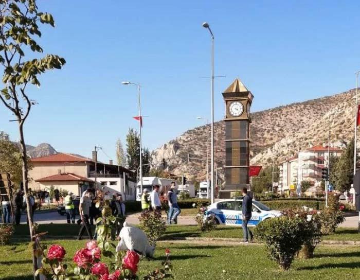 Nallıhan'da trafik kazası!