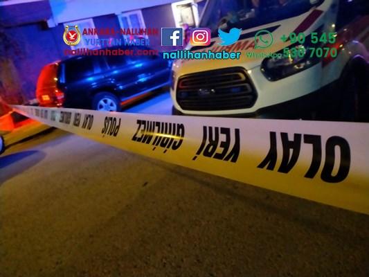 Ankara genç kız başından vurulmuş halde bulundu