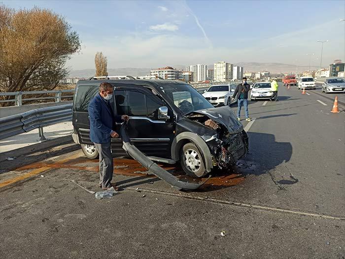 Nallıhan Ankara yolunda trafik kazası
