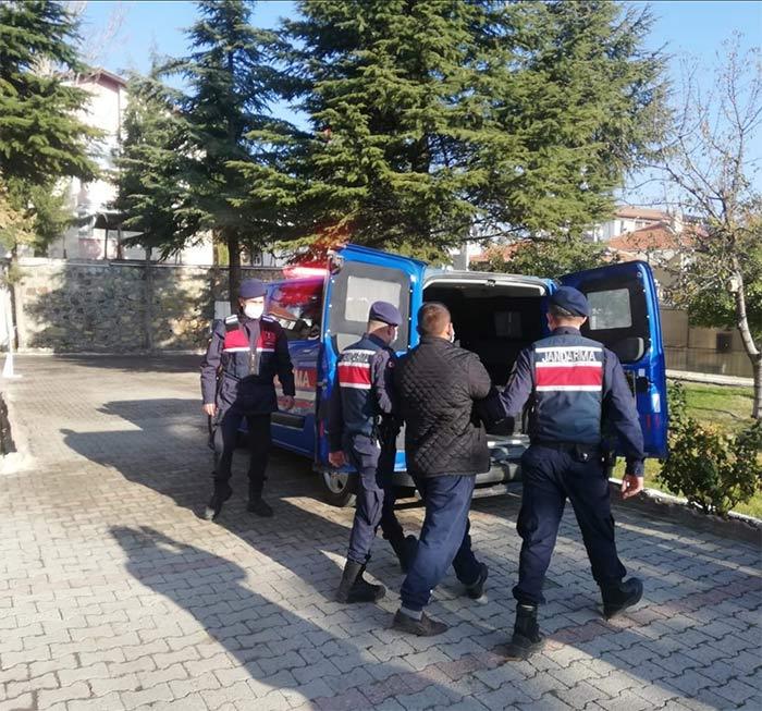 Beypazarı'nda terörist yakalandı