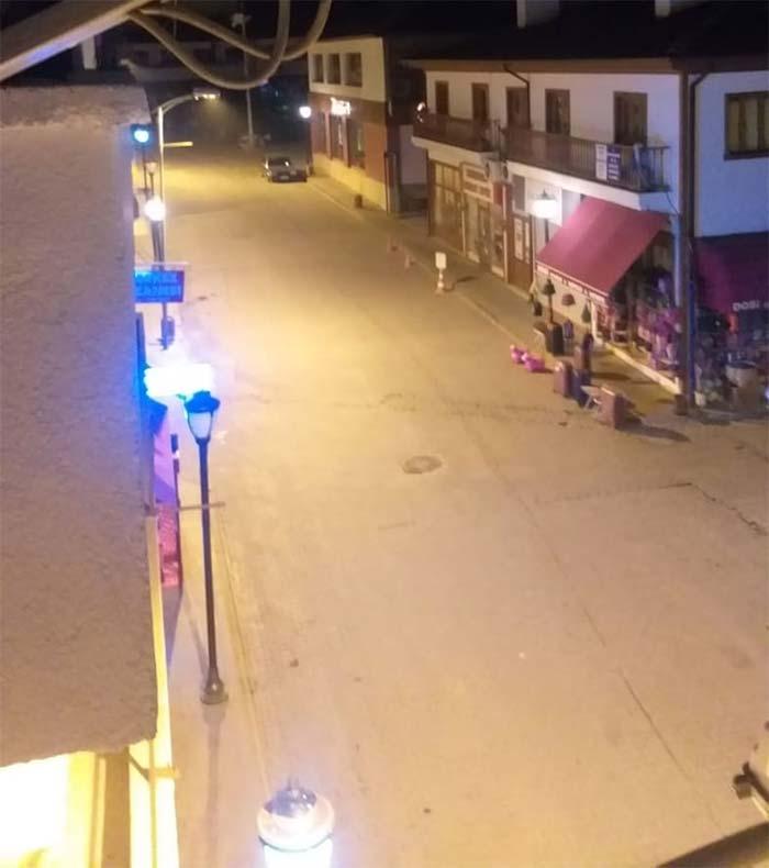 Nallıhan sokakları sessiz kaldı