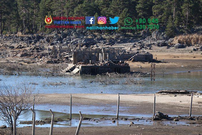 Seben gölü neden boşaldı? Ortaya neler çıktı?
