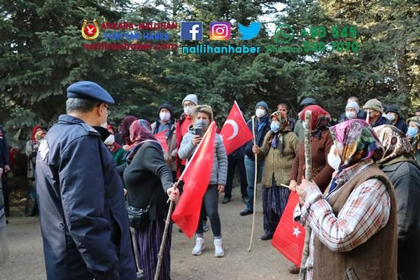 Bolu'da köylüler ile jandarma arasında gerginlik