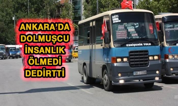 Ankara'da dolmuşta para ve ziynet eşyası buldu Sonra...