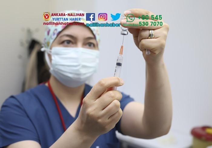 Ankara'da korona aşısı uygulanmaya başlandı