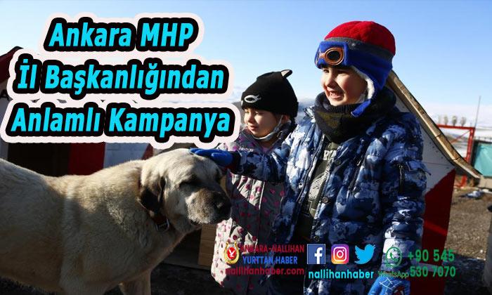 Ankara MHP İl Başkanlığından anlamlı kampanya
