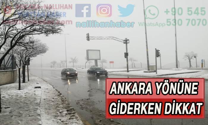 Ankara yönüne giderken dikkat! Kuyruklar oluştu!