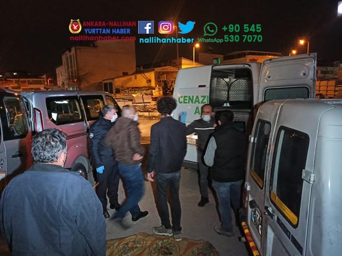 Ankara Sincan'da aracında ölü bulundu!