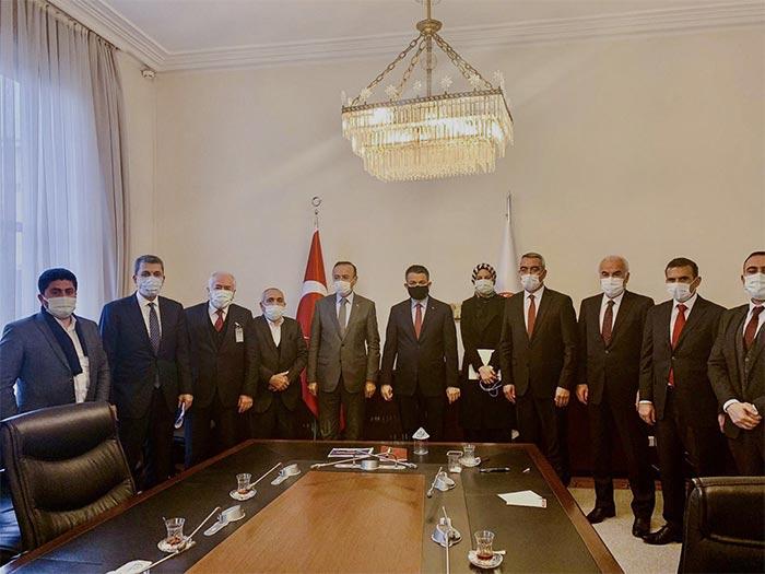 Nevzat Ceylan ve Belediye Başkanları Bakan ile ne görüştü?