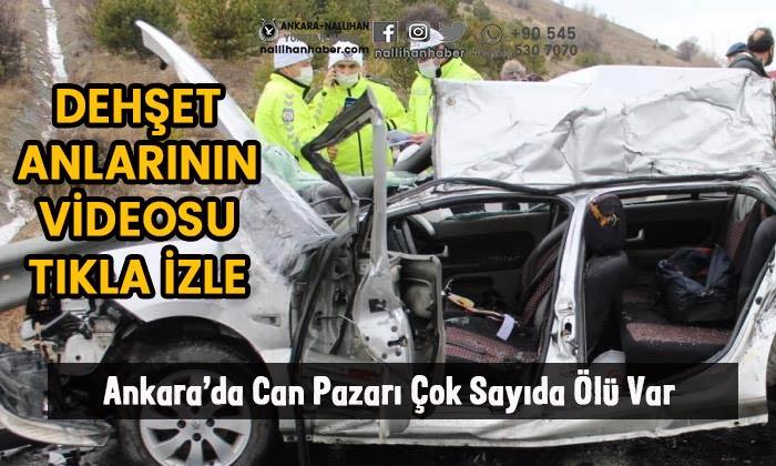 Ankara'da can pazarı! Çok sayıda ölü var!