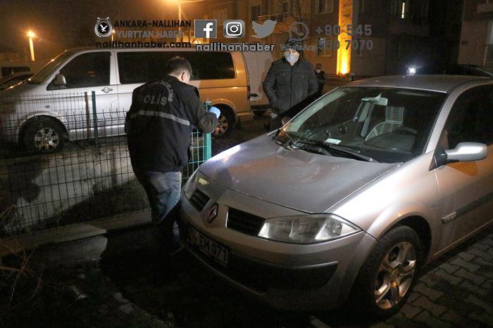 Bolu'da kadın 3.kattan aracın üstüne düştü