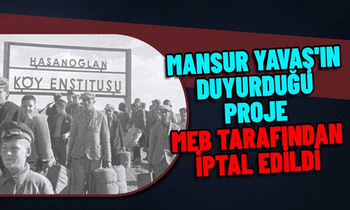 Mansur Yavaş'ın duyurduğu proje iptal edildi