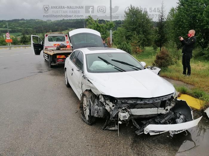 Milletvekili Bolu'da kaza geçirdi