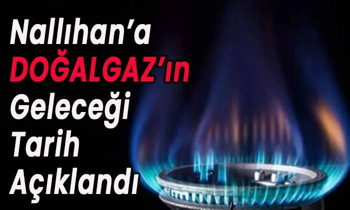 Nallıhan'a doğalgazın geleceği tarih açıklandı