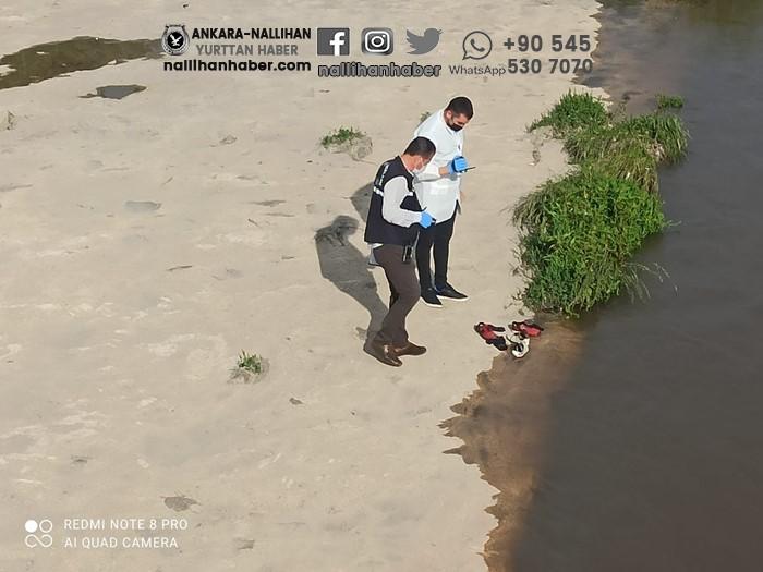 Ankara çayına giren çocuk boğularak öldü!