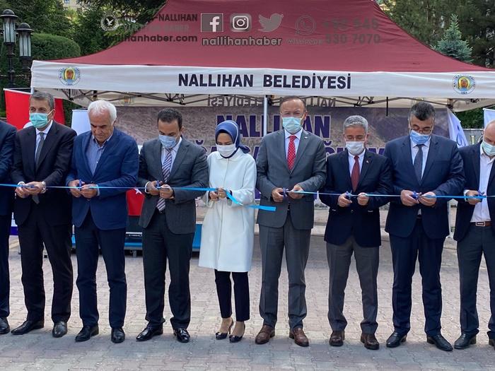Nallıhan doğalgaz altyapı temel atma töreni gerçekleştirildi