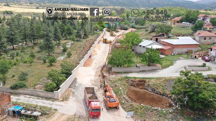 Beypazarı'nda iki mahallenin su sorunu çözüldü