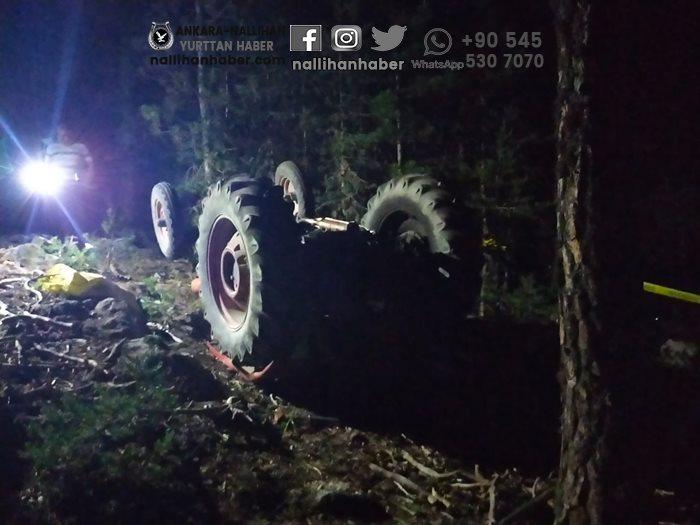 Seben'de traktörün altında kalarak yaşamını yitirdi!