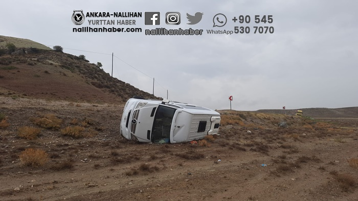 Nallıhan'daki kazada bir kişi yaşamını yitirdi